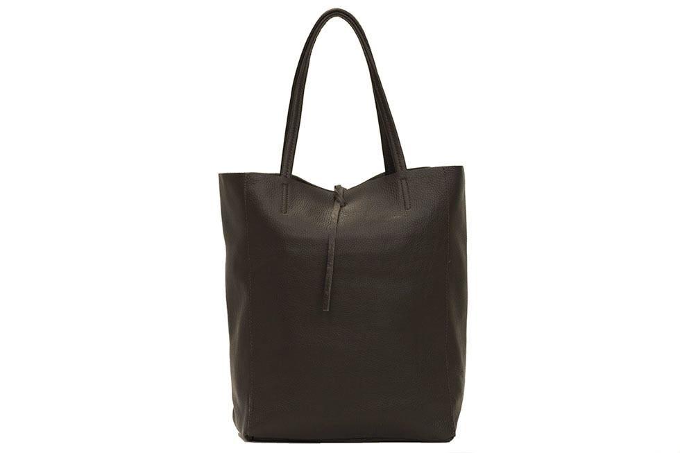 926f6f4b4d7 Dark Brown leather Tote Bag   Italian Handmade   Buy Online